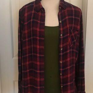 Aeropostale Women's Flannel Shirt